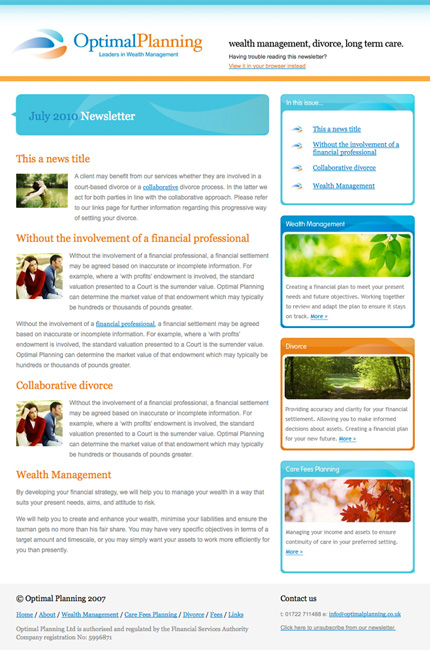 Jiffymail faqs jiffy mail have a bespoke email newsletter template designed and built to reflect your brands maxwellsz